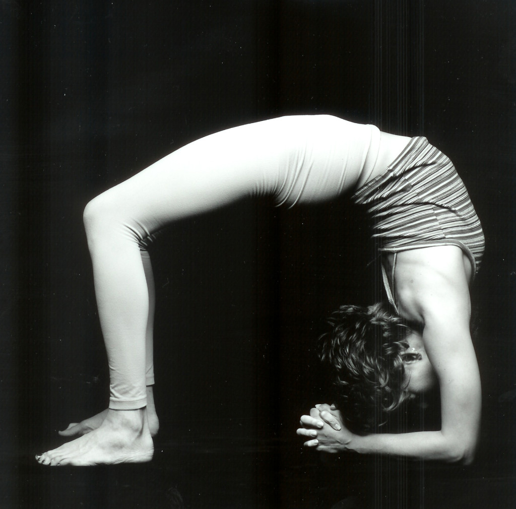 Urdvha Dhanurasana upward bow yoga pose