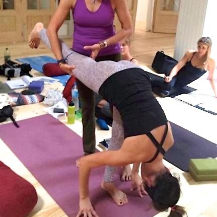 Jeanne Heileman Los Angeles Yoga Teacher and Trainer