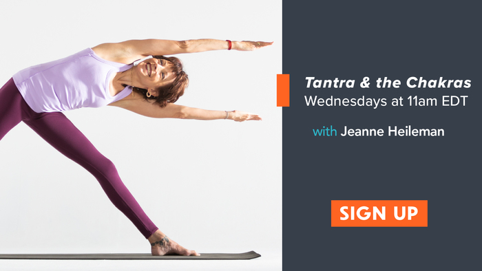 signup Tantra and the chakras with Jeanne Heileman