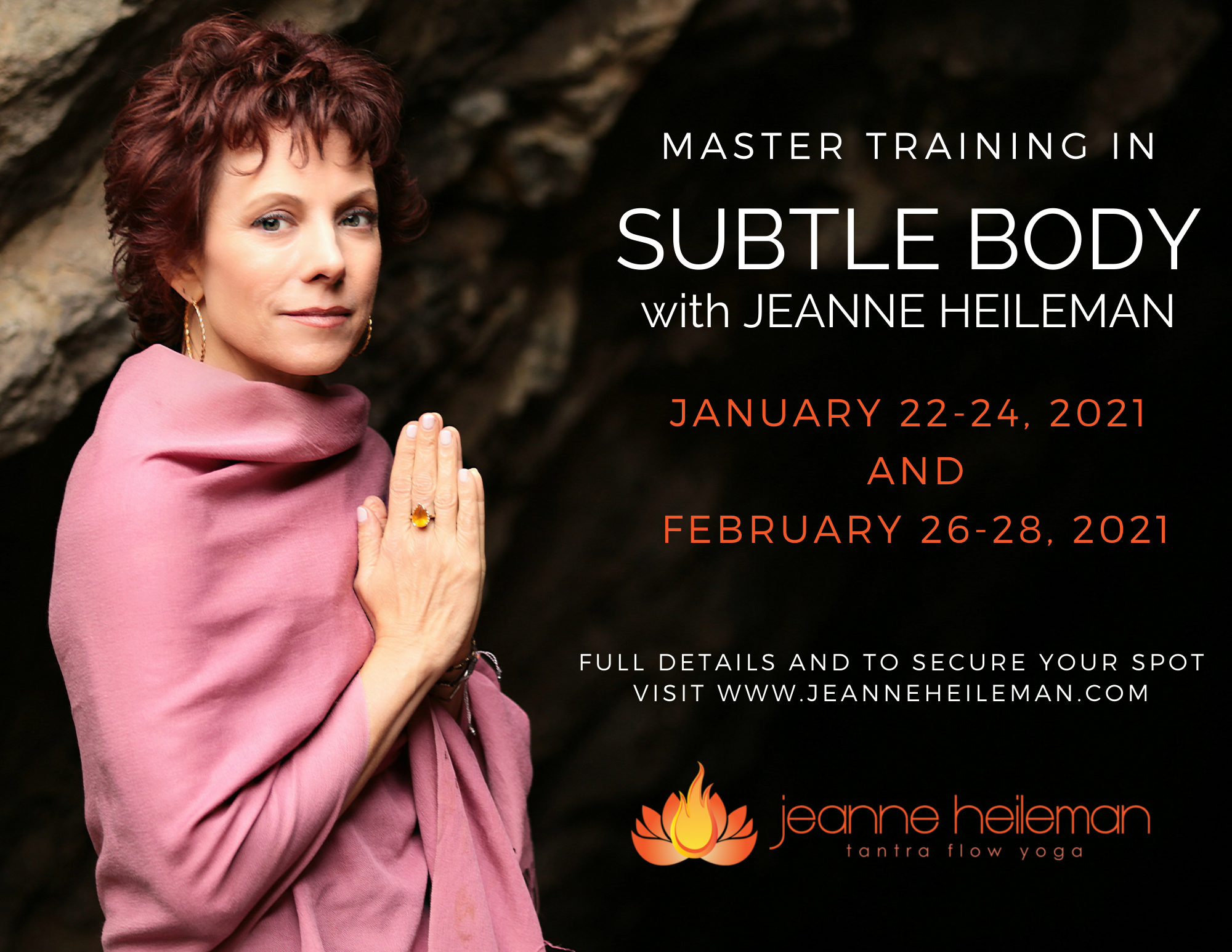 Jeanne Heileman - Master Training in Subtle Body - 50 Hour Journey through the Inner Layers of Yoga